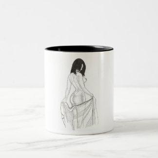 浴室の後 ツートーンマグカップ