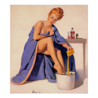 浴室のPin ポスター