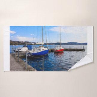浴室タオルセットの港の固定されたボート バスタオルセット