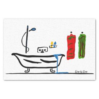 浴室 薄葉紙