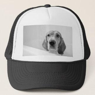 浴槽のビーグル犬 キャップ