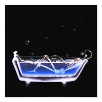 浴槽のX線の視野の骨組-オリジナル 13.3 スクエアインビテーションカード
