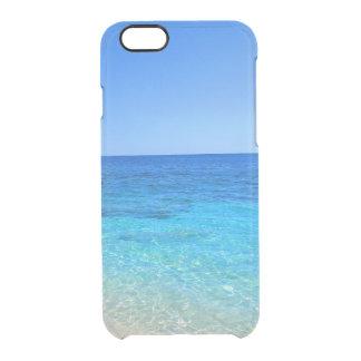 海およびビーチの熱帯wanderlust旅行ヒップスター クリアiPhone 6/6Sケース