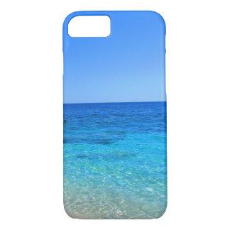 海およびビーチの熱帯wanderlust旅行ヒップスター iPhone 8/7ケース