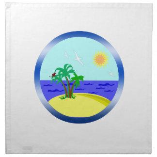 海および日光 ナプキンクロス
