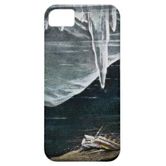 海および氷山のヴィンテージの下で巨大なRMS iPhone SE/5/5s ケース