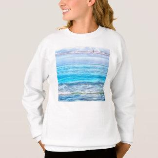 海かのなんと眺め スウェットシャツ