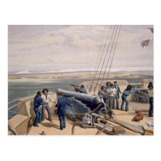 海からのセバストーポリ、「Wの座席からのプレート ポストカード