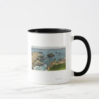 海が海岸に会うところ マグカップ