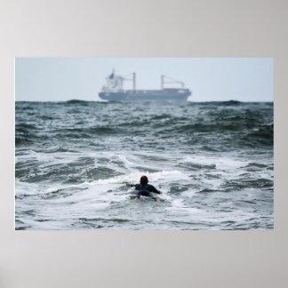 海で失ったサーファーシリーズ- ポスター