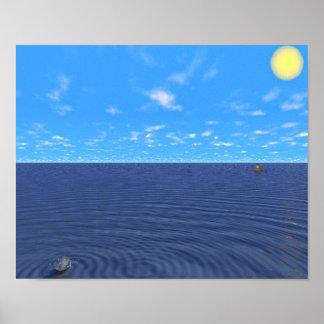海で失った ポスター