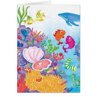 海で カード