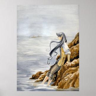 海によるモーガン ポスター