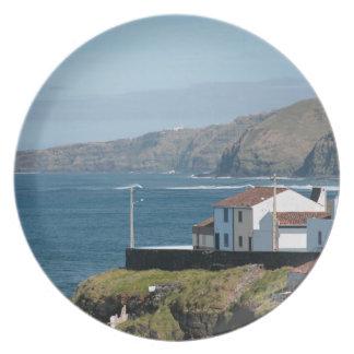 海による家 プレート