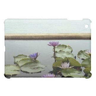 海による池のスイレン iPad MINI カバー