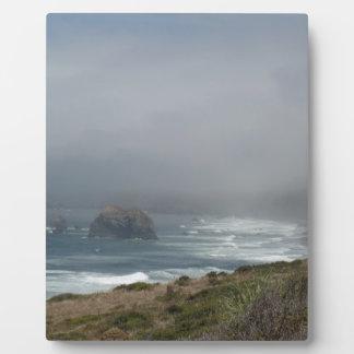 海による美しいカリフォルニア海岸の景色 フォトプラーク
