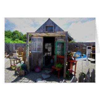 海によるLilの掘っ建て小屋 カード