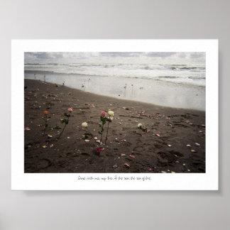 、海に私と来られる ポスター