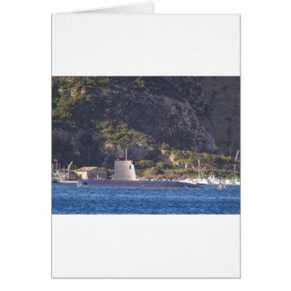 海に置く潜水艦 カード