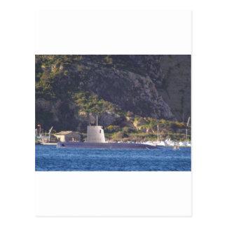 海に置く潜水艦 ポストカード