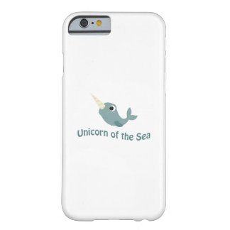 海のかわいいユニコーン BARELY THERE iPhone 6 ケース