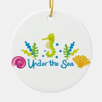海のアーチの下 セラミックオーナメント