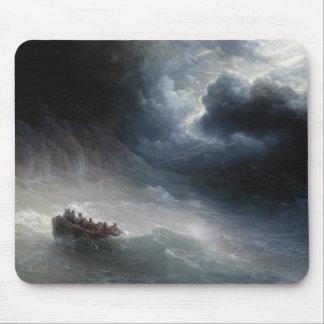 海のイヴァンAivazovskyの海景の憤り マウスパッド
