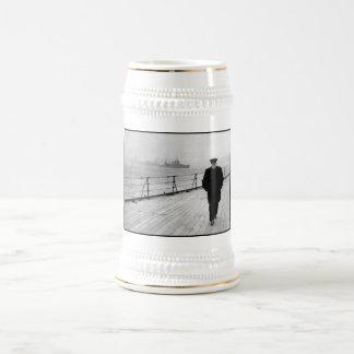 海のウィンストン・チャーチル ビールジョッキ