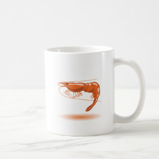 海のエビ コーヒーマグカップ