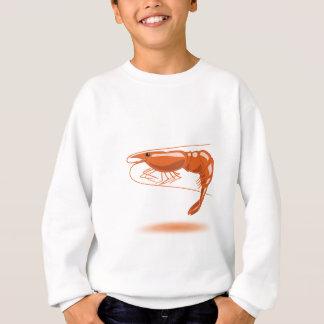 海のエビ スウェットシャツ
