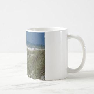 海のオートムギおよび波 コーヒーマグカップ