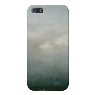 海のカスパー・ダーヴィト・フリードリヒ著Capuchinの修道士 iPhone 5 カバー