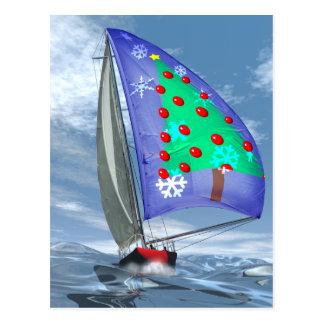 海のクリスマス ポストカード