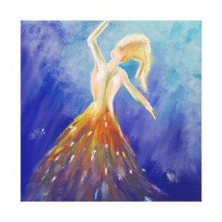 海のダンス キャンバスプリント