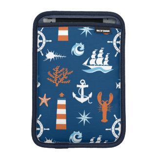 海のテーマパターン1 iPad MINIスリーブ