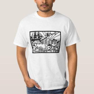 海のテーマ Tシャツ