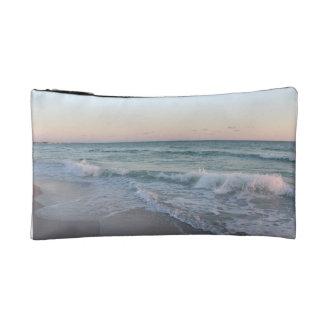 海のデザインの化粧品のバッグ コスメティックバッグ