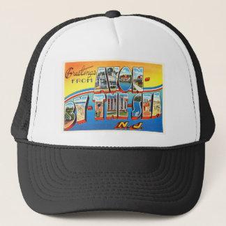 海のニュージャージーNJのヴィンテージの郵便はがきによるAvon - キャップ