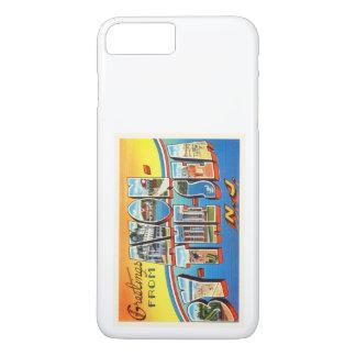 海のニュージャージーNJのヴィンテージの郵便はがきによるAvon - iPhone 8 Plus/7 Plusケース
