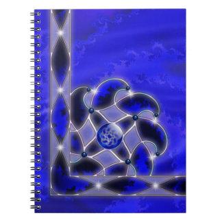 海のノートとして青 ノートブック