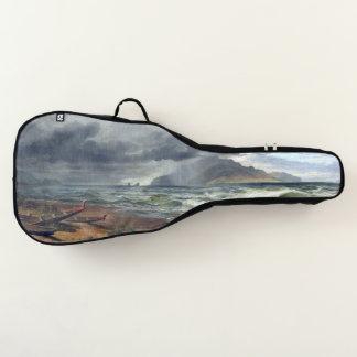 海のビーチのニュージーランドのカヌーのギターのバッグ箱 ギターケース