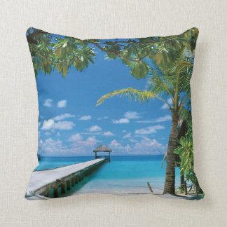 海のビーチの海場面枕 クッション