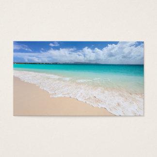 海のビーチ 名刺