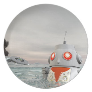 海のプレートのロボット衝突 プレート