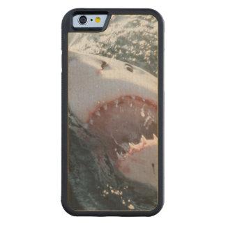 海のホホジロザメ CarvedメープルiPhone 6バンパーケース