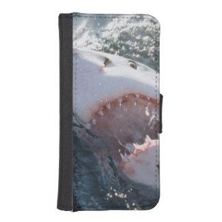 海のホホジロザメ iPhoneSE/5/5sウォレットケース