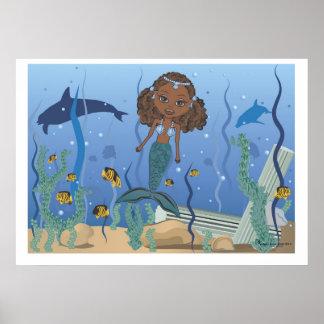 海のマンディの人魚 ポスター