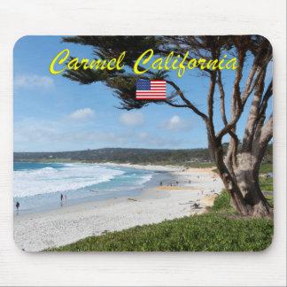 海のモンテレーカリフォルニア米国著CARMEL マウスパッド