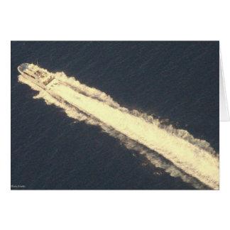 海のヨット カード