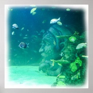 海の下のアトランティス ポスター